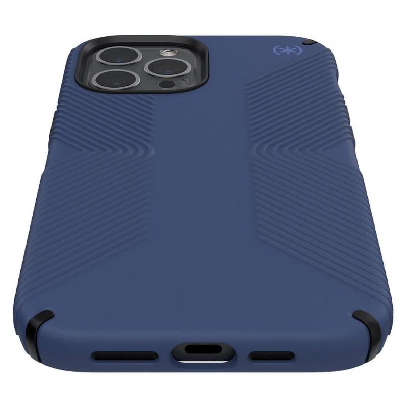 Speck Presidio Grip Case iPhone 12 / 12 Pro Blauw - 6