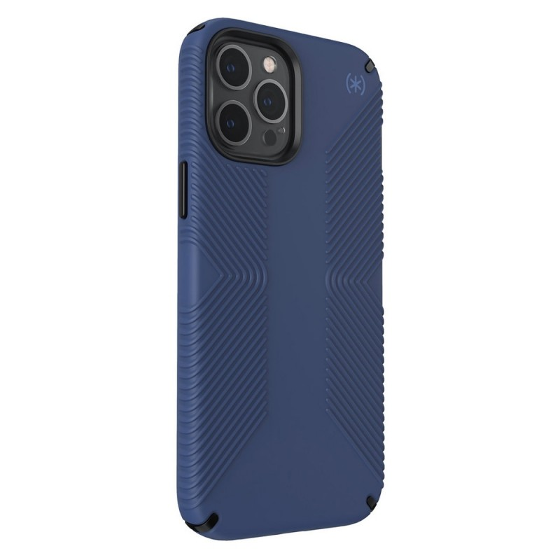 Speck Presidio Grip Case iPhone 12 / 12 Pro Blauw - 5