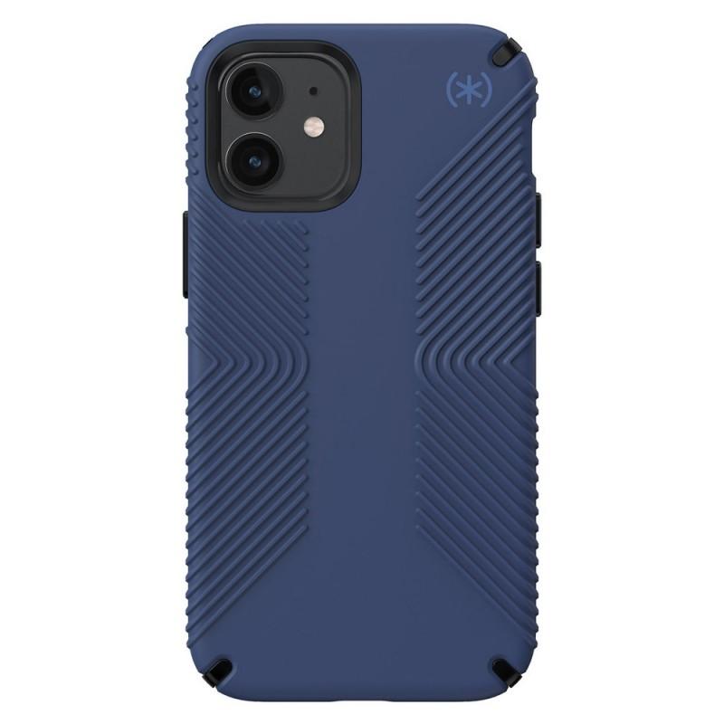 Speck Presidio Grip Case iPhone 12 Mini Blauw - 1