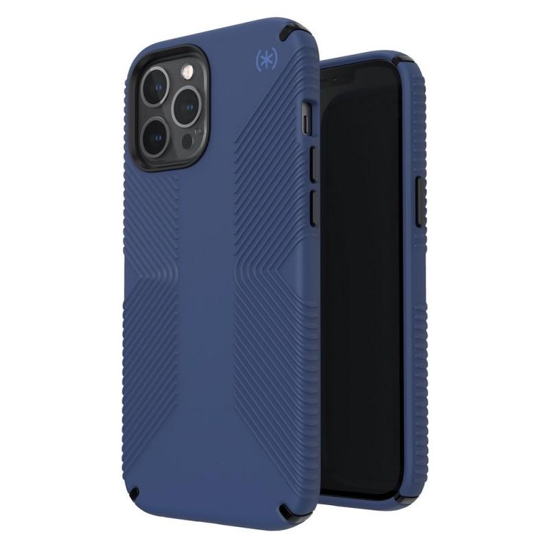 Speck Presidio Grip Case iPhone 12 Pro Max Blauw - 6