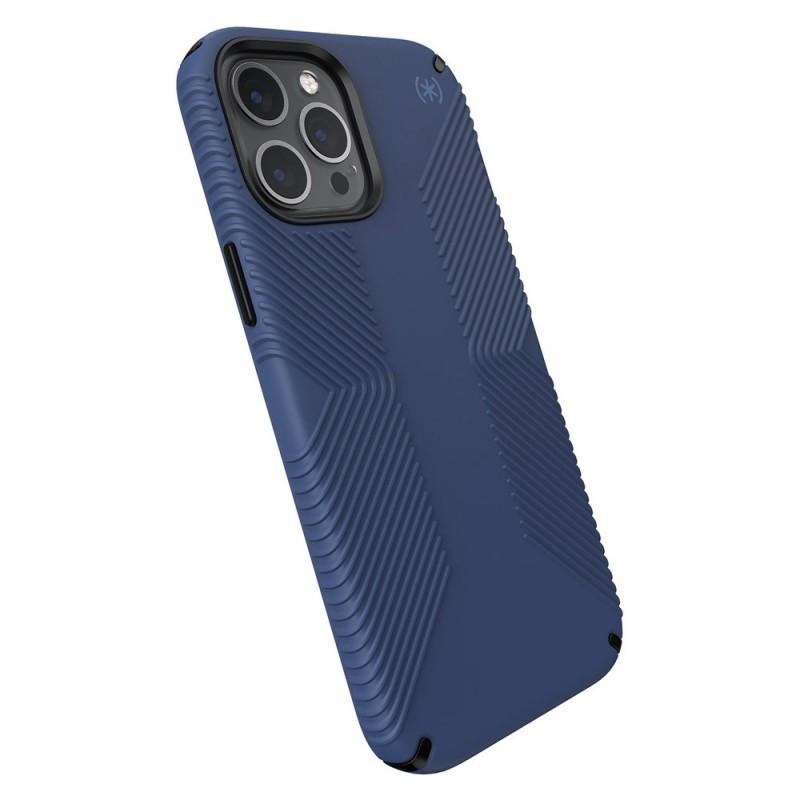 Speck Presidio Grip Case iPhone 12 Pro Max Blauw - 4