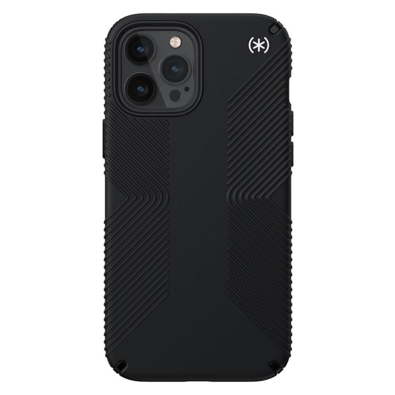 Speck Presidio Grip Case iPhone 12 Pro Max Zwart - 1