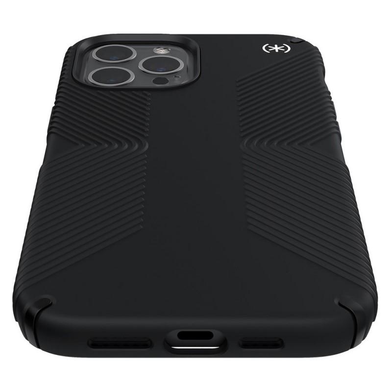 Speck Presidio Grip Case iPhone 12 Pro Max Zwart - 5