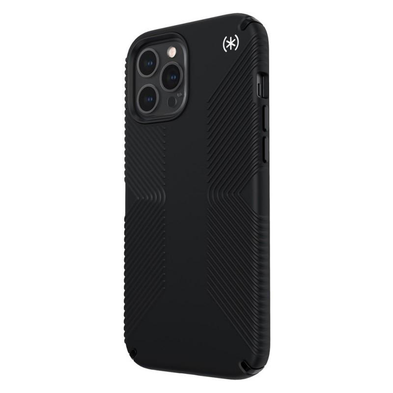 Speck Presidio Grip Case iPhone 12 Pro Max Zwart - 4