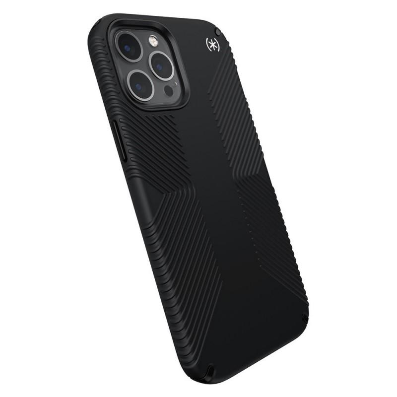 Speck Presidio Grip Case iPhone 12 Pro Max Zwart - 7