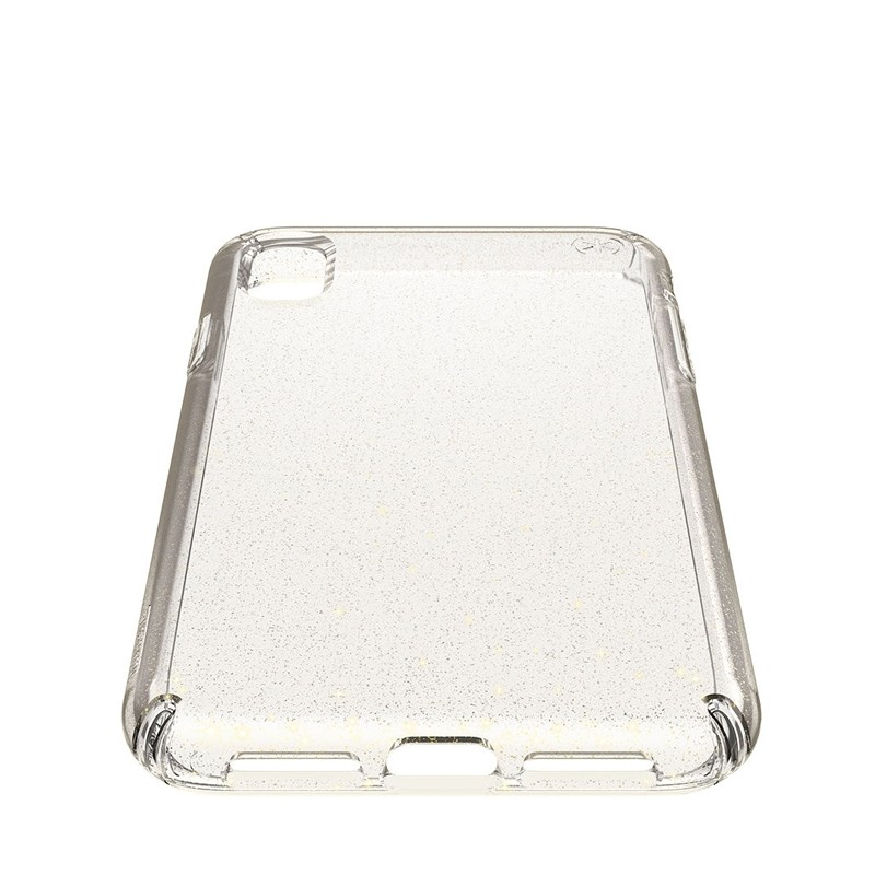 Speck Presidio Clear Glitter iPhone XS Max Case Goud/Transparant 04