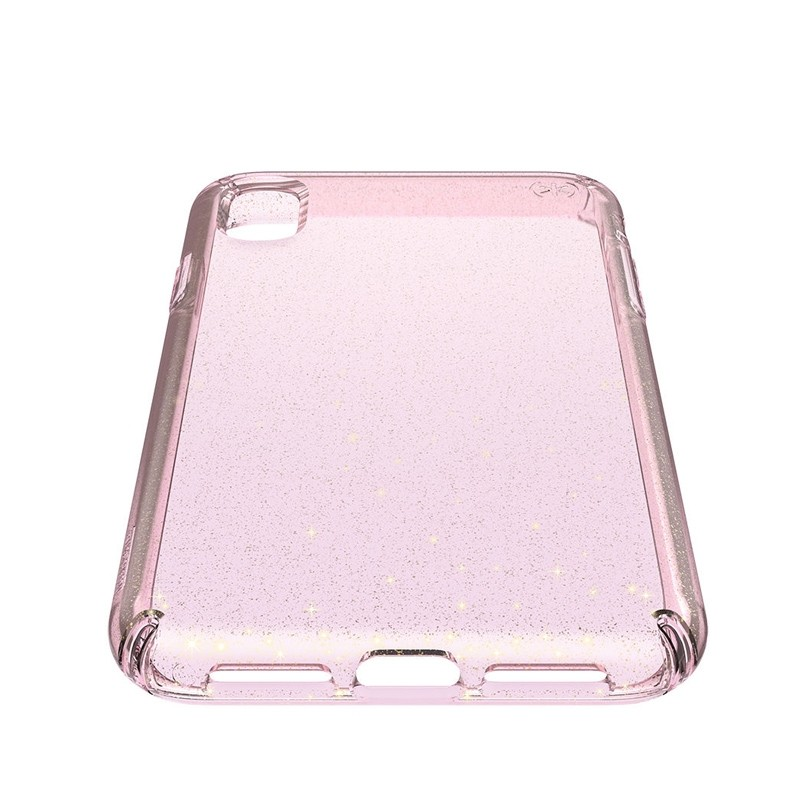 Speck Presidio Clear Glitter iPhone XS Max Case Roze/Transparant 04