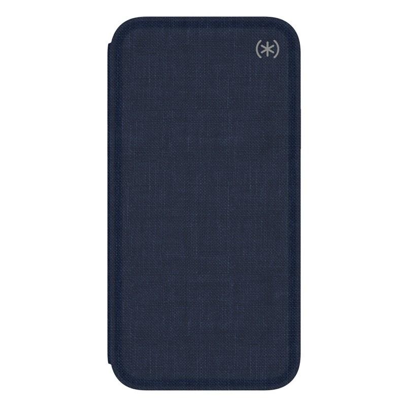 Speck Presidio Folio iPhone X/XS Hoesje Blauw - 5