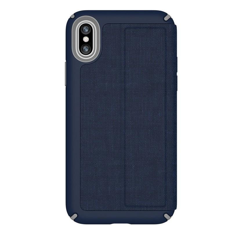 Speck Presidio Folio iPhone X/XS Hoesje Blauw - 6
