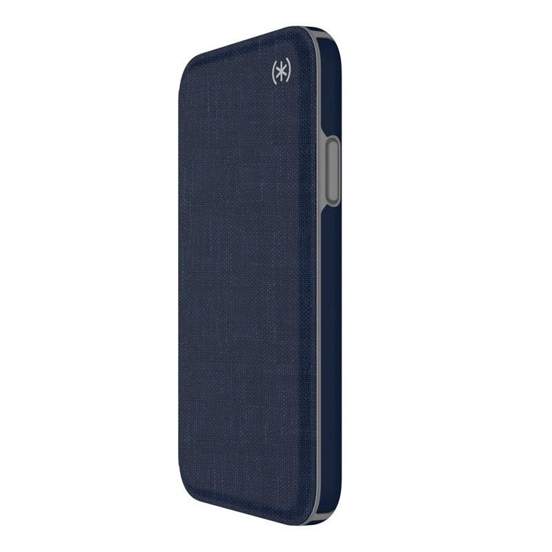 Speck Presidio Folio iPhone X/XS Hoesje Blauw - 9