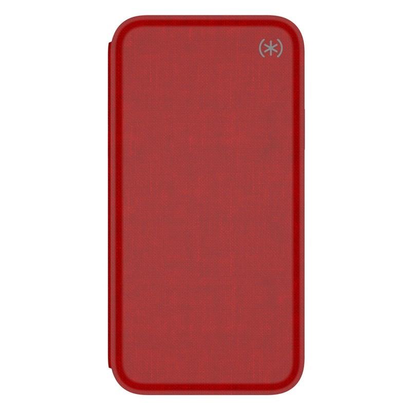 Speck Presidio Folio iPhone X/XS Hoesje Rood - 5
