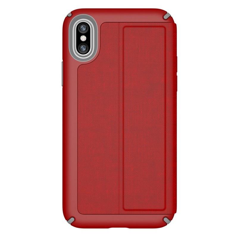 Speck Presidio Folio iPhone X/XS Hoesje Rood - 6