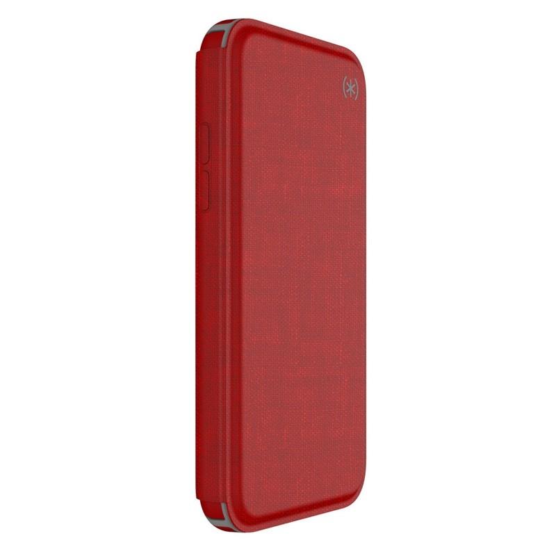 Speck Presidio Folio iPhone X/XS Hoesje Rood - 7