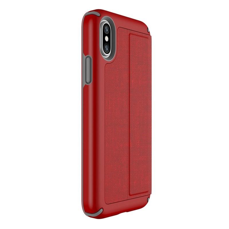 Speck Presidio Folio iPhone X/XS Hoesje Rood - 8