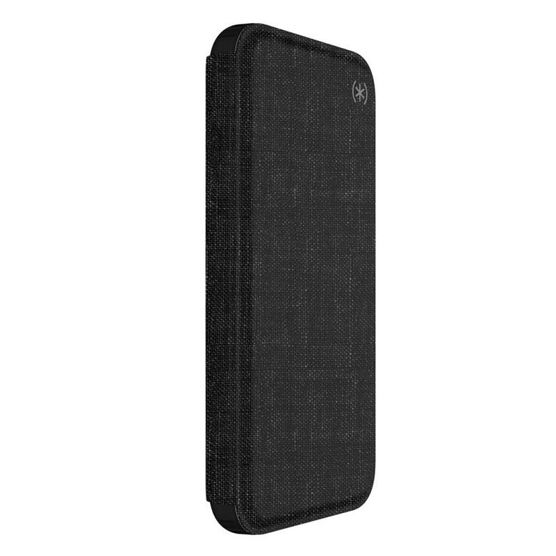 Speck Presidio Folio iPhone X/XS Hoesje Zwart - 6