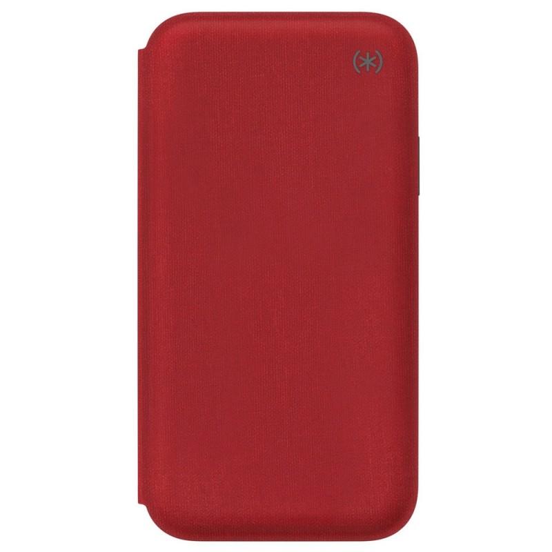 Speck Presidio Folio iPhone XR Hoesje Rood 04