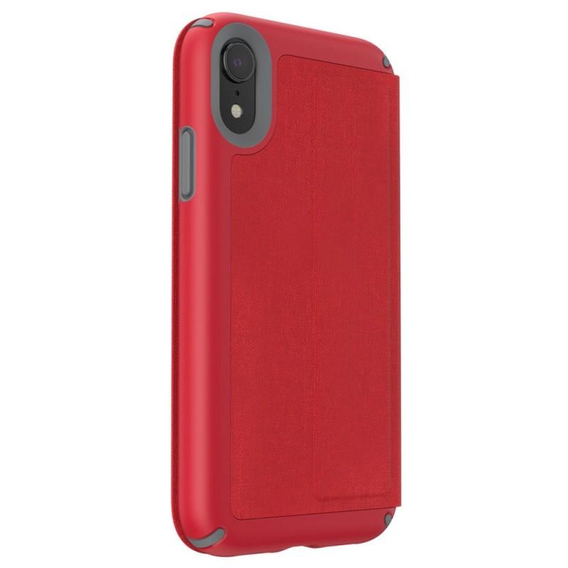 Speck Presidio Folio iPhone XR Hoesje Rood 05