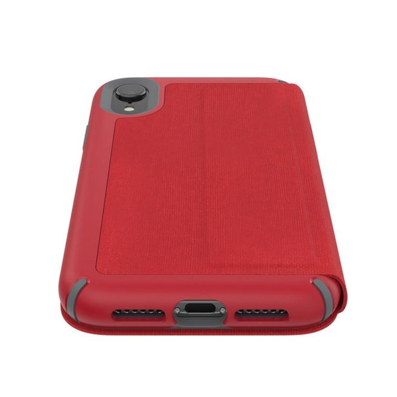 Speck Presidio Folio iPhone XR Hoesje Rood 06