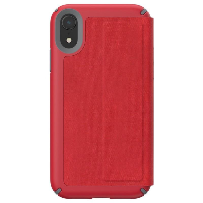 Speck Presidio Folio iPhone XR Hoesje Rood 011