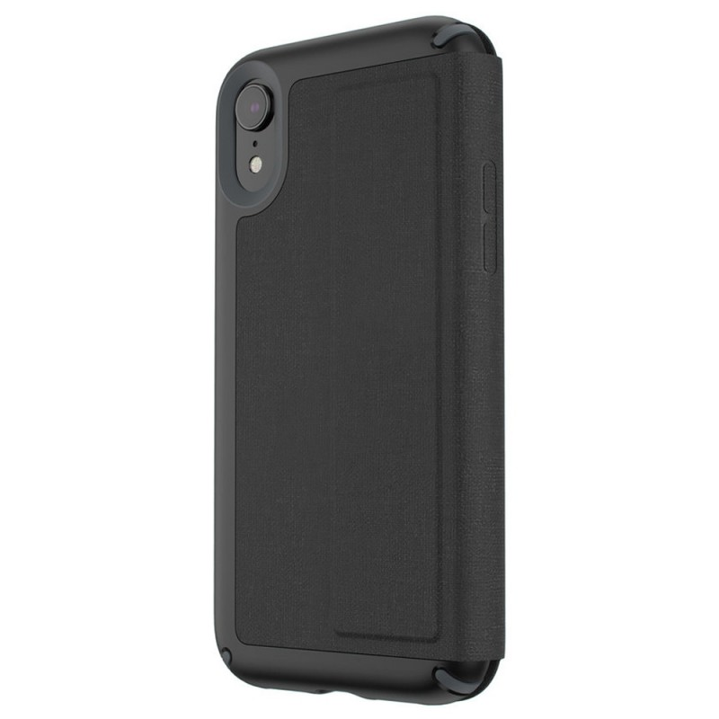 Speck Presidio Folio iPhone XR Hoesje Zwart 02