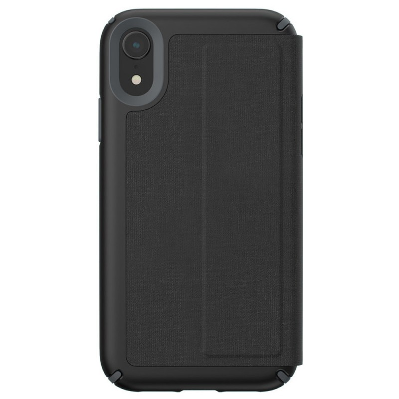Speck Presidio Folio iPhone XR Hoesje Zwart 09