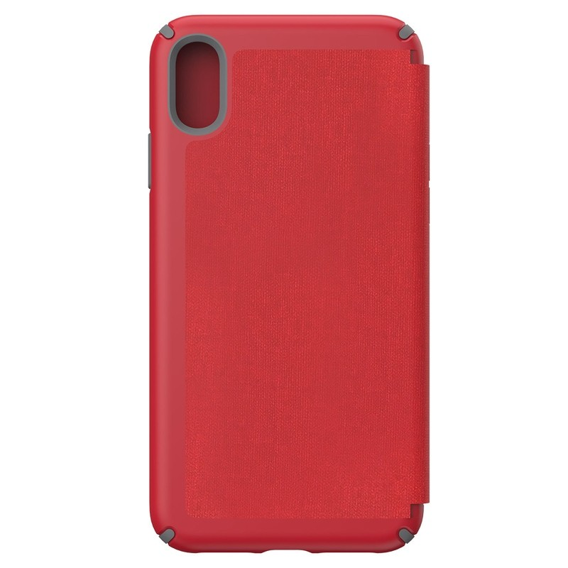 Speck Presidio Folio iPhone XS Max Case Rood 02