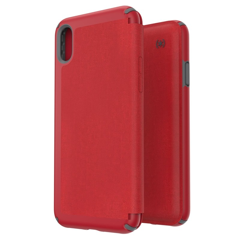 Speck Presidio Folio iPhone XS Max Case Rood 05