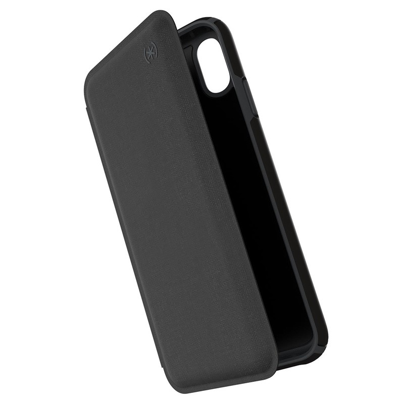 Speck Presidio Folio iPhone XS Max Case Zwart 01