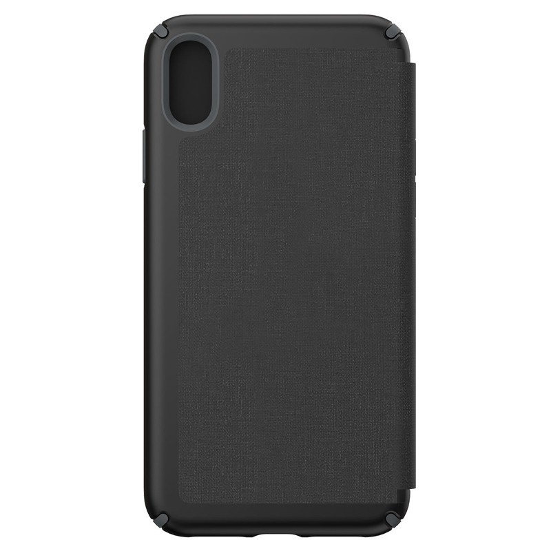 Speck Presidio Folio iPhone XS Max Case Zwart 02