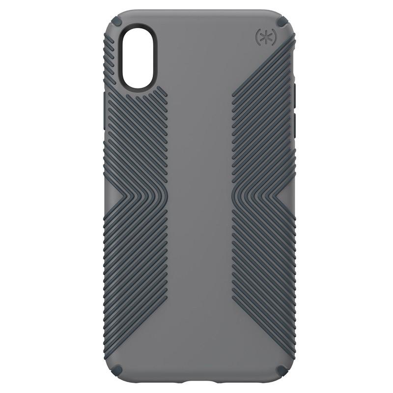 Speck Presidio Grip iPhone XS Max Hoesje Grijs 01