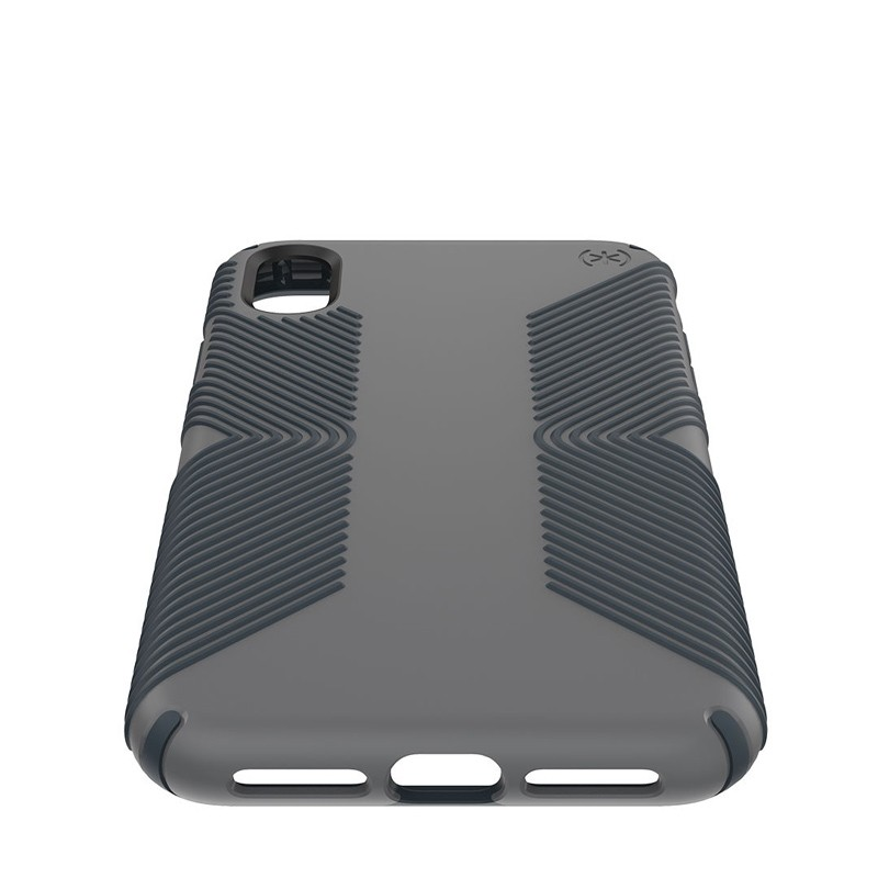 Speck Presidio Grip iPhone XS Max Hoesje Grijs 04