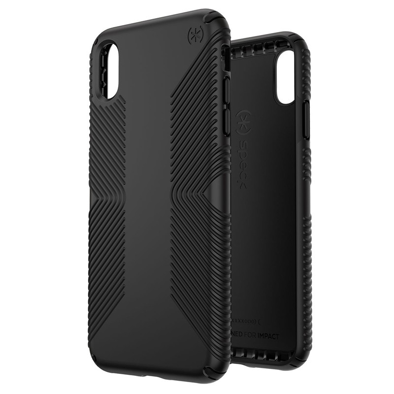 Speck Presidio Grip iPhone XS Max Hoesje Zwart 05