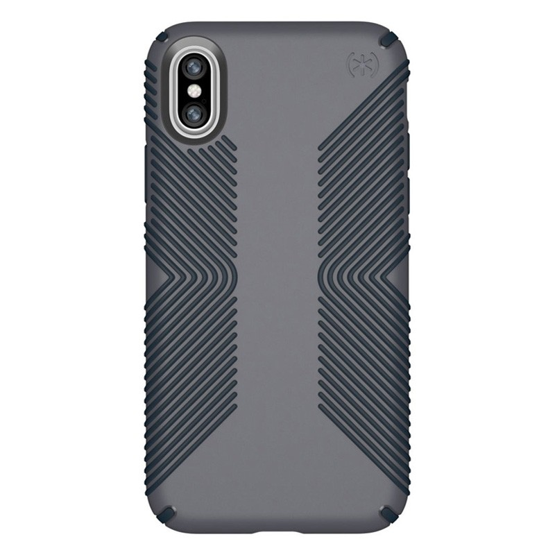 Speck Presidio Grip Case iPhone X/XS Grijs - 1