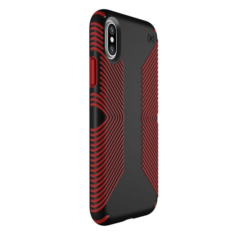 Speck Presidio Grip Case iPhone X/XS Rood - 2