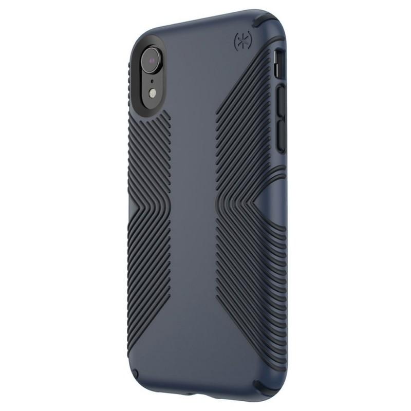 Speck Presidio Grip Case iPhone XR Blauw 04