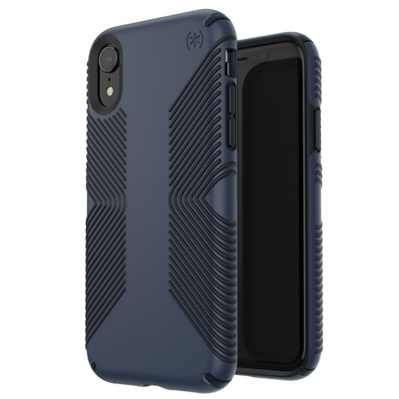 Speck Presidio Grip Case iPhone XR Blauw 05