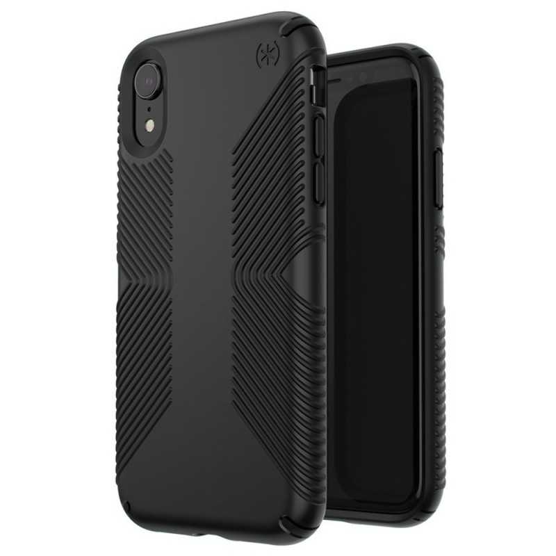 Speck Presidio Grip Case iPhone XR Zwart 05