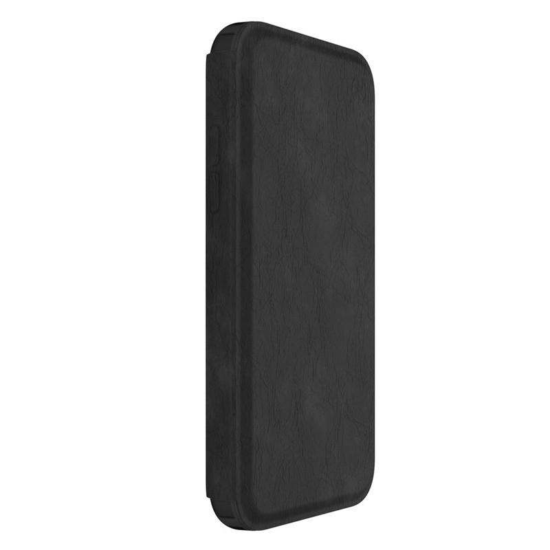 Speck Presidio Folio Leather iPhone X/XS Hoesje Zwart - 6