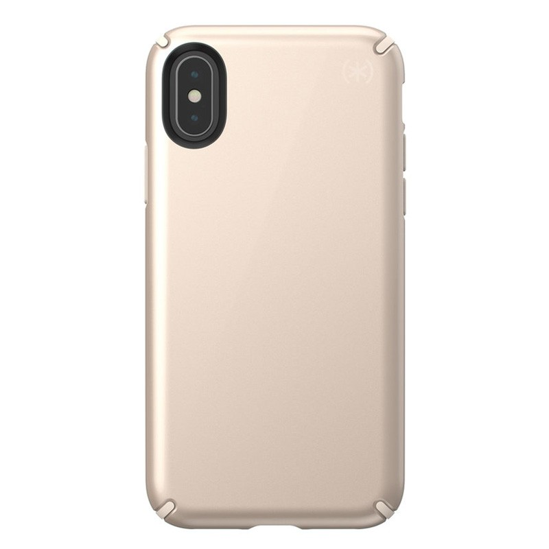 Speck Presidio Metallic iPhone X/XS Hoesje Goud - 1