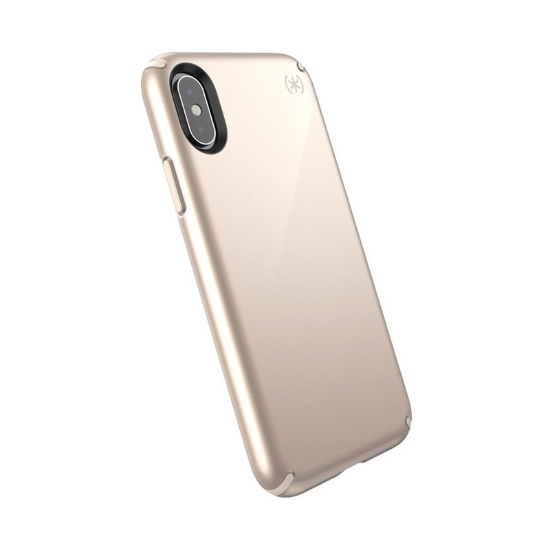 Speck Presidio Metallic iPhone X/XS Hoesje Goud - 6