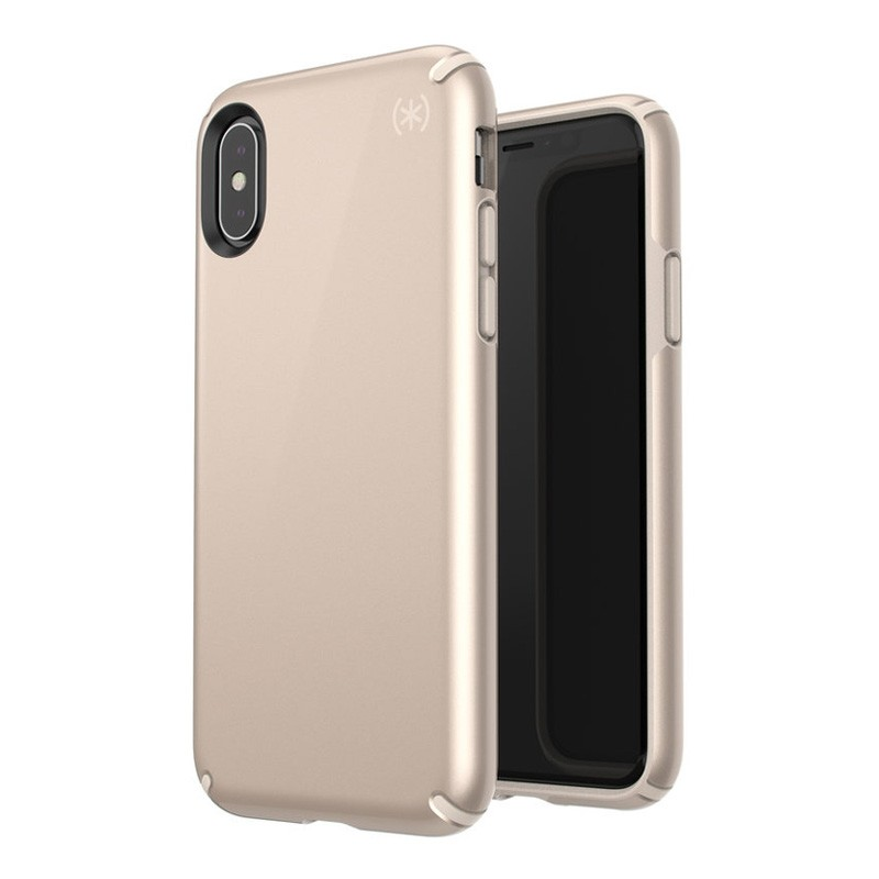 Speck Presidio Metallic iPhone X/XS Hoesje Goud - 8