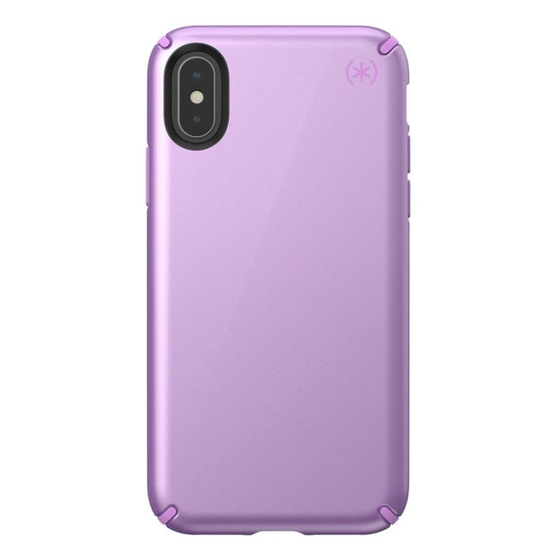 Speck Presidio Metallic iPhone X/XS Hoesje Paars - 1