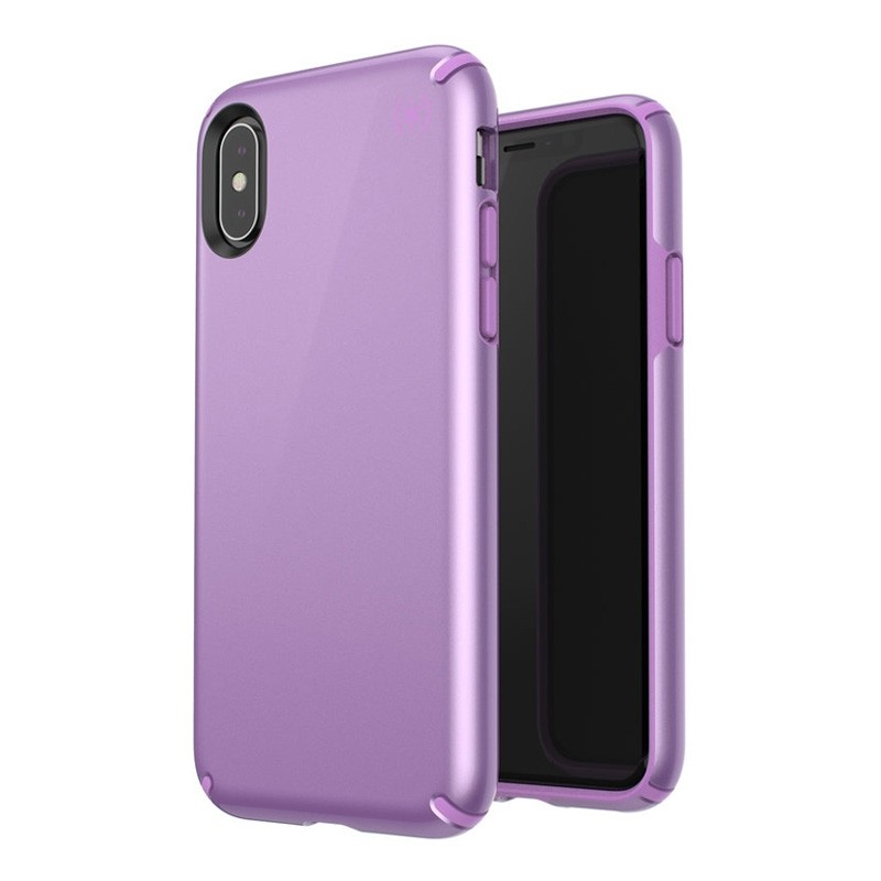 Speck Presidio Metallic iPhone X/XS Hoesje Paars - 8