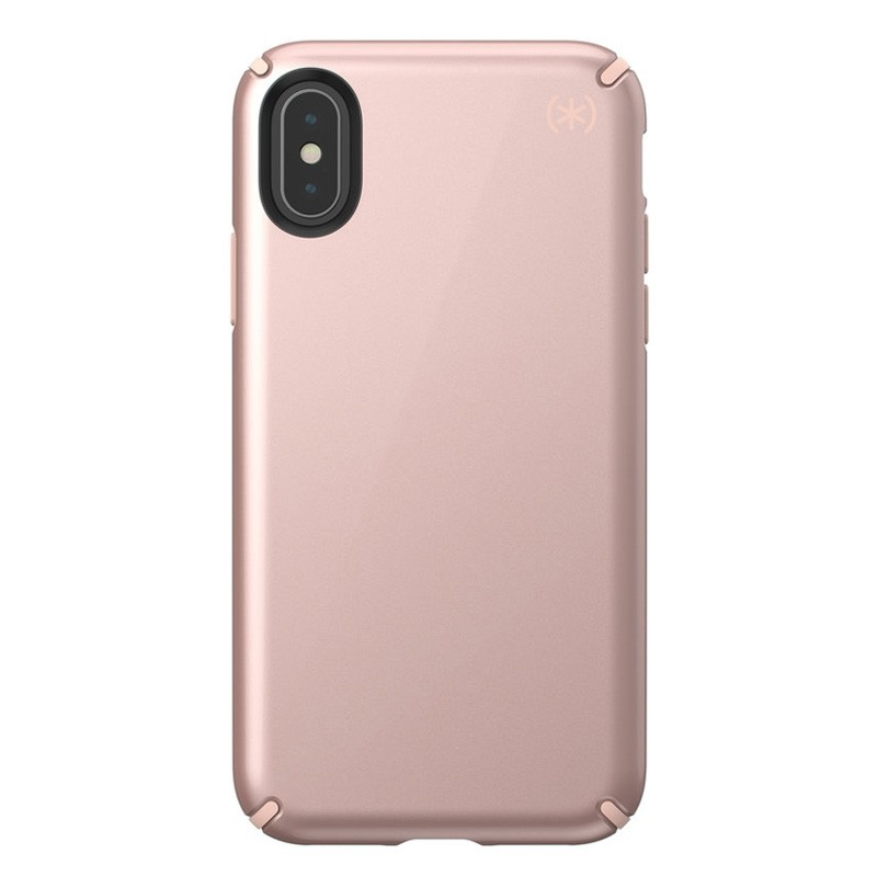 Speck Presidio Metallic iPhone X/XS Hoesje Roze - 1