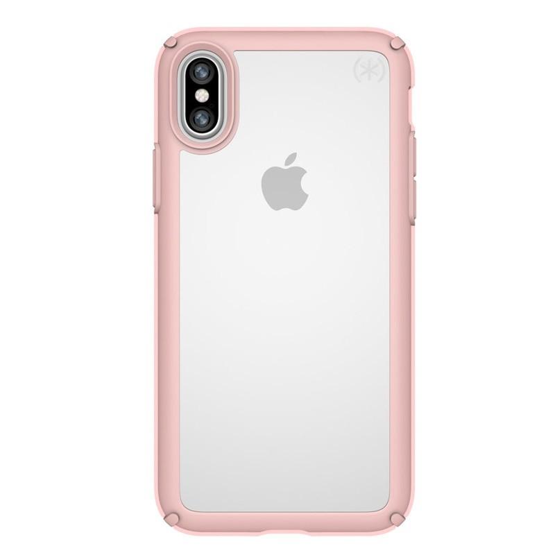 Speck Presidio Show iPhone X/XS Hoesje Roze/Transparant - 1