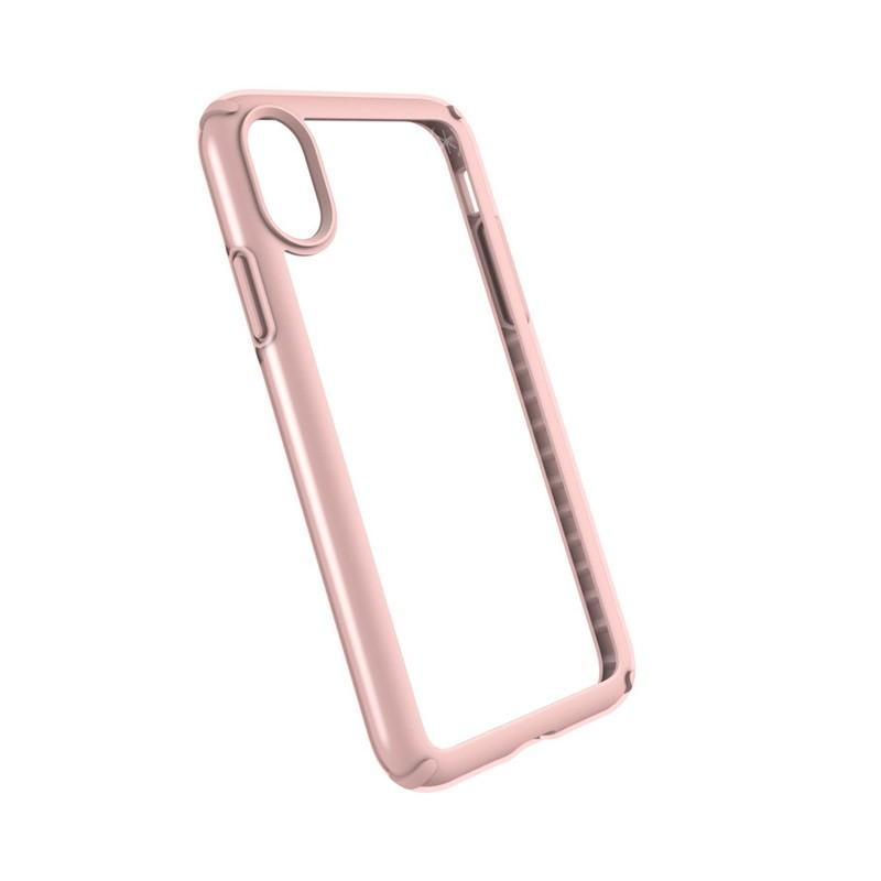 Speck Presidio Show iPhone X/XS Hoesje Roze/Transparant - 2