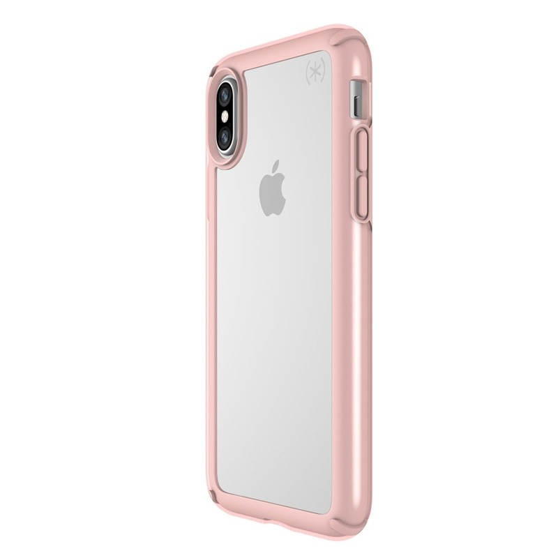 Speck Presidio Show iPhone X/XS Hoesje Roze/Transparant - 4