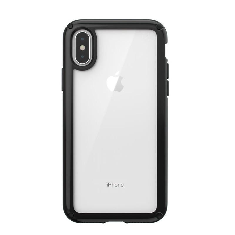 Speck Presidio Show iPhone X/XS Hoesje Zwart/Transparant - 1