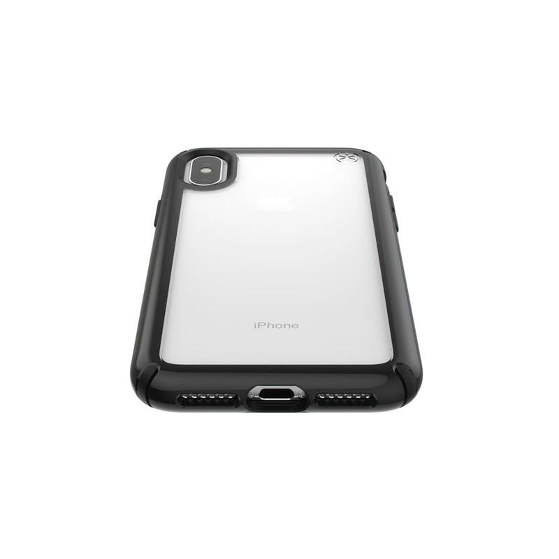 Speck Presidio Show iPhone X/XS Hoesje Zwart/Transparant - 5