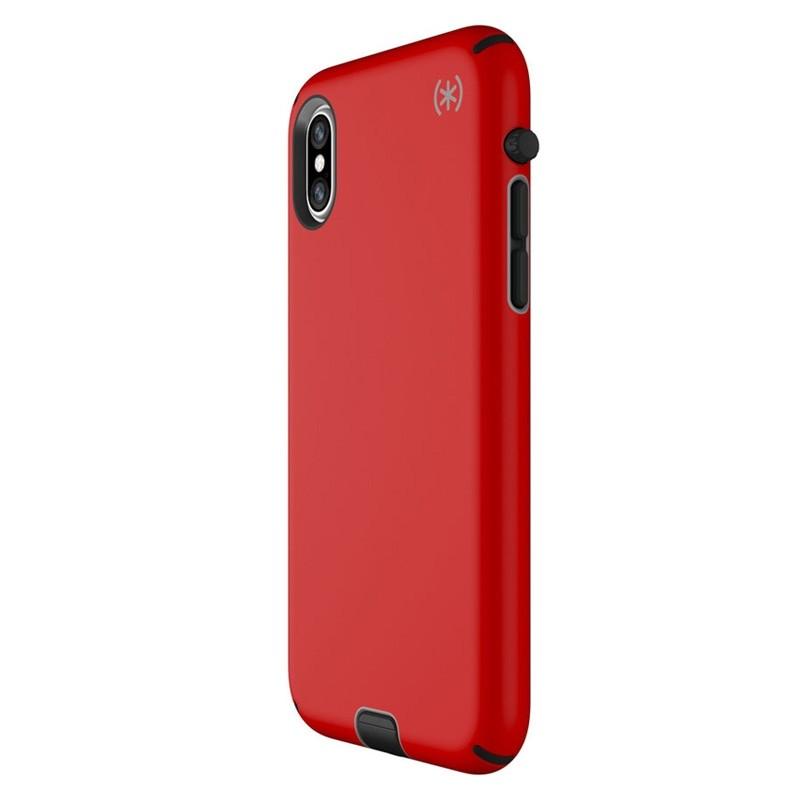 Speck Presidio Sport iPhone X/XS Hoesje Rood - 2